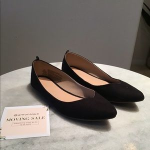 black Old Navy flats